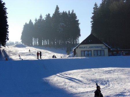 Der Skilift Ersteberg bei Masserberg