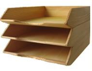 Ablage aus Holz