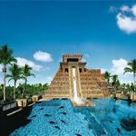 Wasserrutsche im Aquaventure Wasserpark des Atlantis, The Palm Dubai