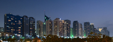 Corniche von Abu Dhabi
