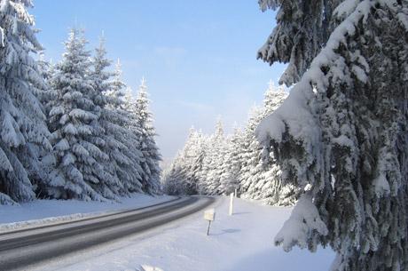Tolles Winterwetter am Rennsteig
