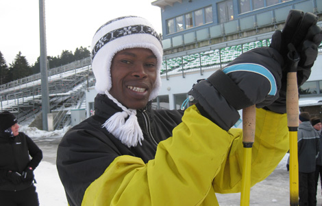 Daniel Bii, Biahtlon Nationalmannschaft Kenia in Oberhof