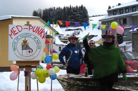 Med-Punkt Faschingsumzug Katzhütte 2010
