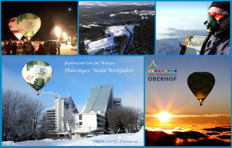 Postkarte des Ballonsportclub Thüringen e.V. zur 6. TWWF