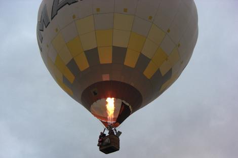 Ballonstart Schönemann/Sommerhage zur 6. TWWF