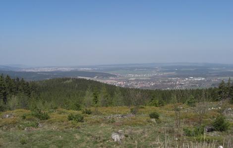 Blick von Lengen Berg nördlich