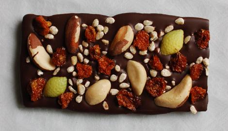 Meine erste selbstgemacht Schweizer Schokolade