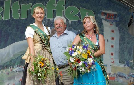 Die zweite Thüringer Bergkönigin Jaqueline Krüger