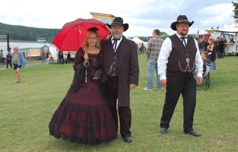 Country Pit und Uschi beim Countryfestival Ratscher