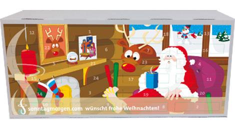Geschenktipp zum Nikolaus: Kaffee Adventskalender 2010