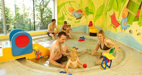 Babyhotel in Österreich - Wellnessbereich
