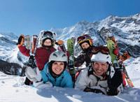 Winterurlaub mit Familie