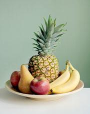Obstschale - gesunde Ernährung