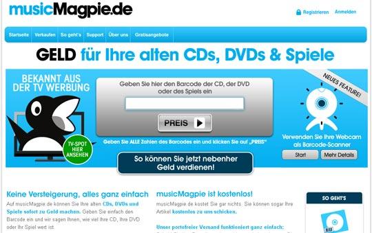 alte CD's, Spiele und DVD's verkaufen